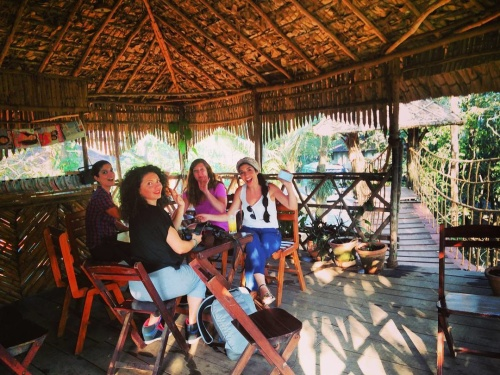 Coffee at a tree house - check! #keralablogexpress #TripOfALifetime