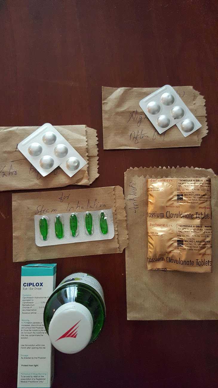 Hospital pharmacy medicines in Thekkady © Travel Me