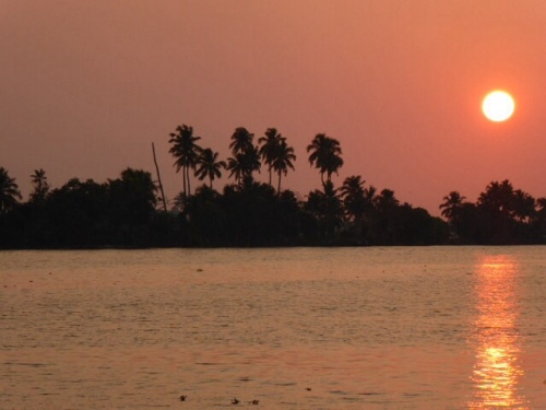 Bloggers Adrift in the Kerala Backwaters