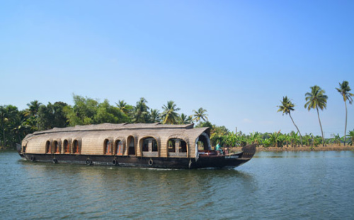 Kerala Backwaters Houseboat trip – day 1 relax, sunset and paddy fields